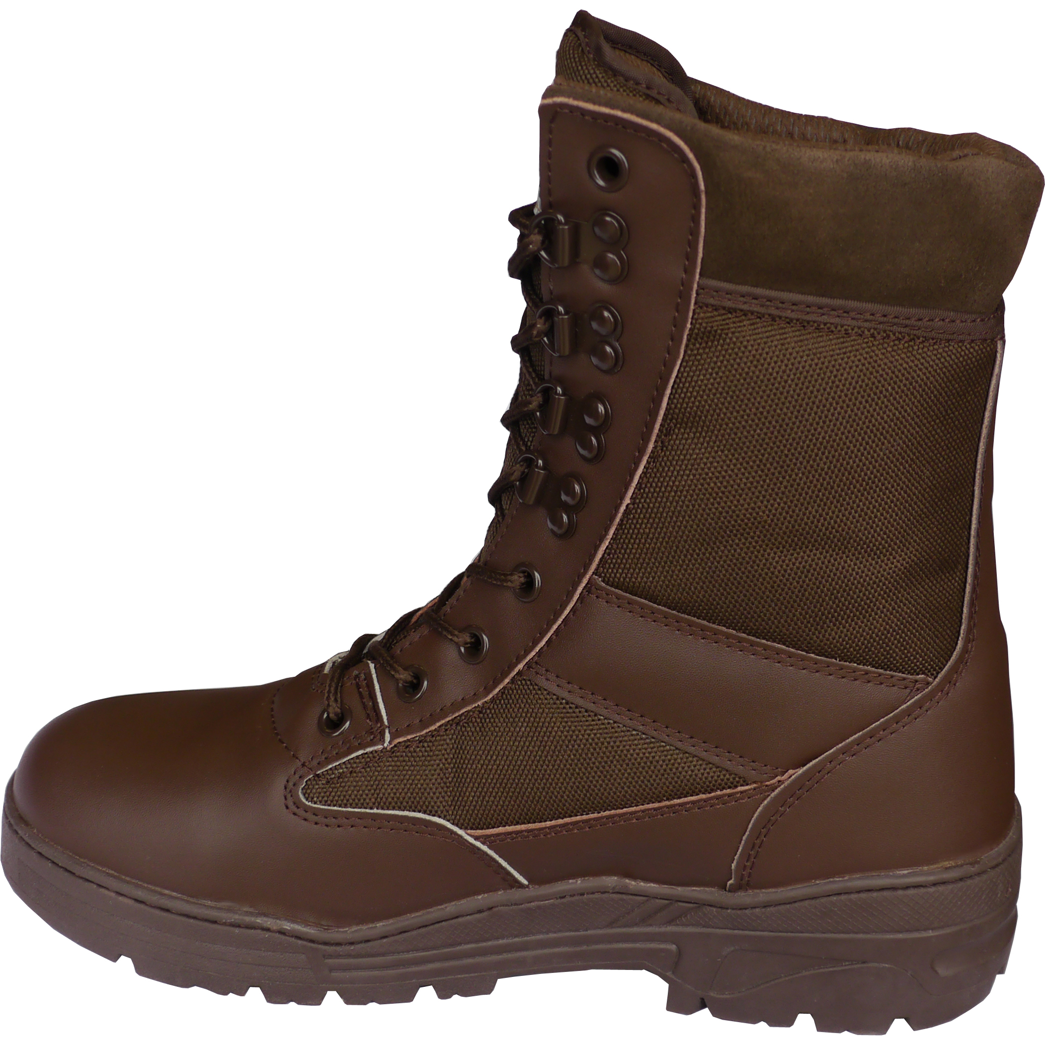 combat boots half leather brown outdoor wholesale